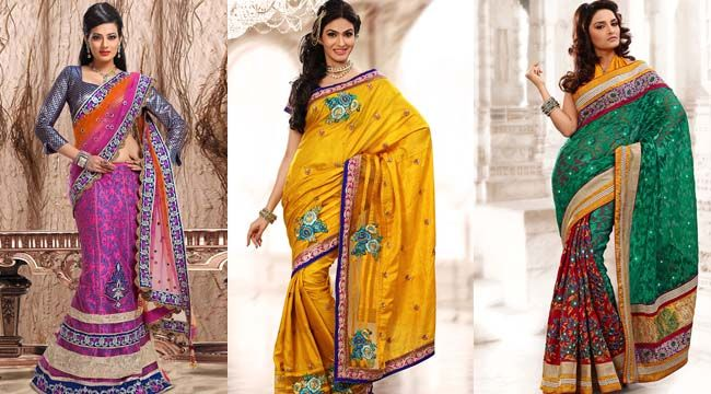 Ustav fashion   Choose Best Bridal Sarees Online from Utsav Fashion