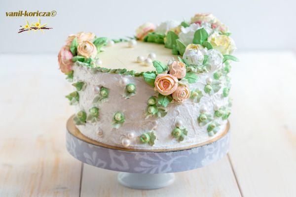 торт Имбирная роза