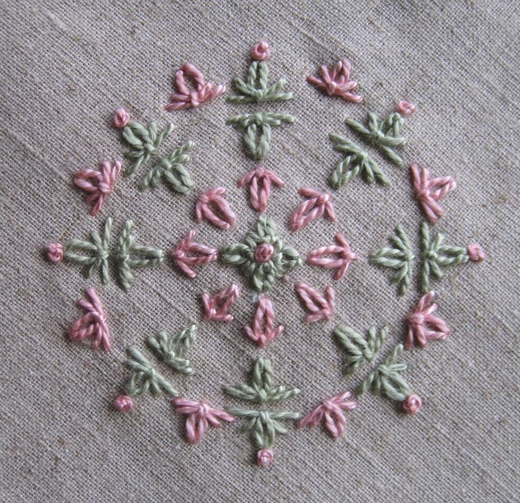 194 Best Embroidery Stitches Looped Images On Pinterest