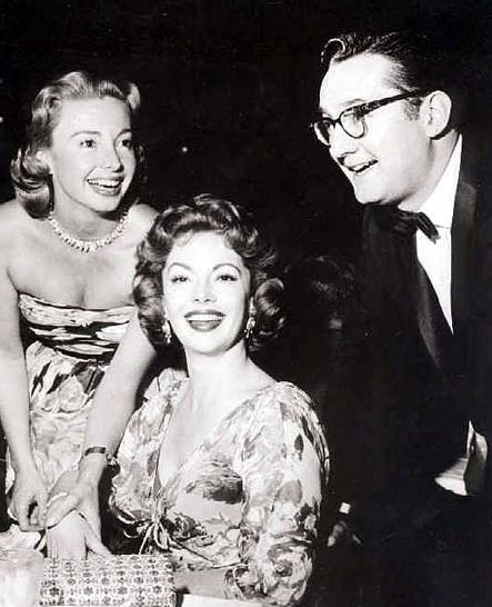 Audrey meadows with her sister jayne meadows and brother in law steve