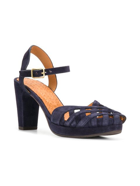 Chie Mihara Caged Heel Sandals - Farfetch