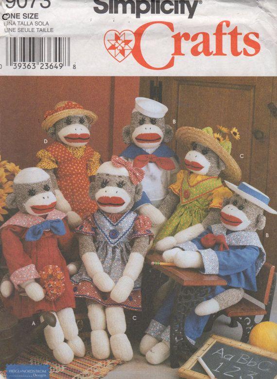 257 best sock monkey images on Pinterest | Christmas ornaments, Sock ...