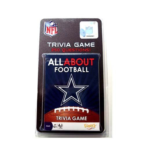 Dallas Cowboys All About Trivia Card Game ** Click image ...