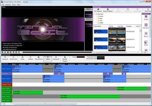 Virtual Edit is a semi-professional video editing software at ambitious content creators to video novices, to generate material with a smooth and professional look like, with a limited budget. Start providing your own story in a Virtual Editor, a simple tool video editi