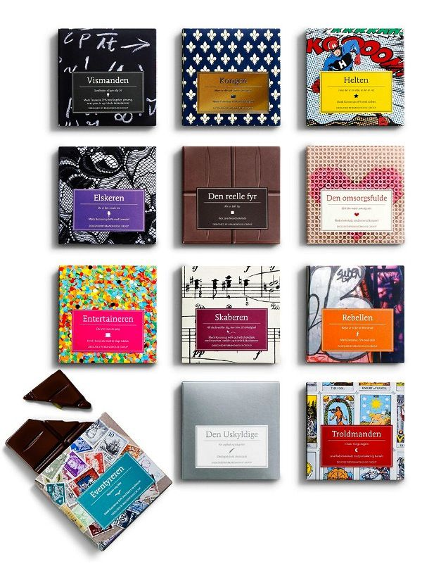 For all our #chocolate loving #packaging peeps. Be sure and enlarge so you can see the patterns better. Yumm PD