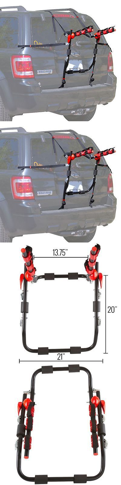 Car and Truck Racks 177849: Trunk-Mount 3-Bike Carrier Hatchback Suv Or Car Sport Bicycle Rack -> BUY IT NOW ONLY: $44.99 on eBay!
