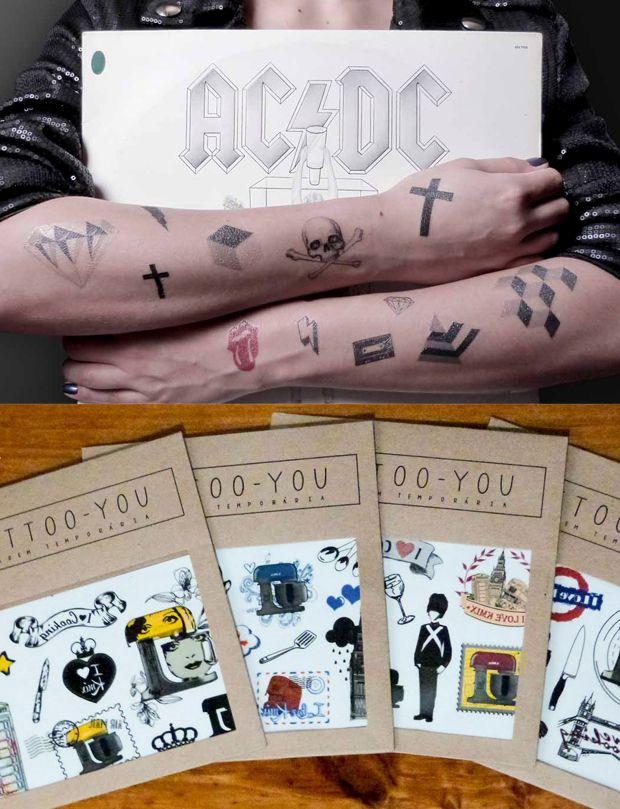Tatuagens temporárias da marca brasileira Love Tattoo – You!