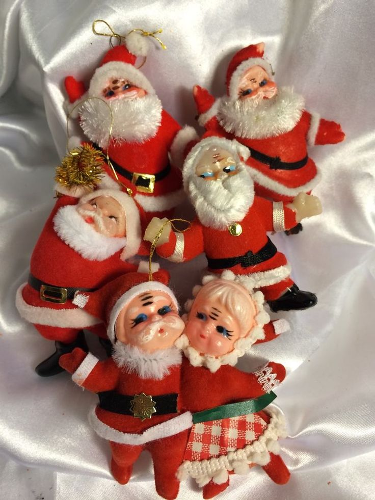 Vintage Christmas Decorations