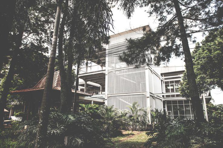 Project: Gistex Function Building A Image 2 Location: Bandung, Indonesia  #architect #bandung #jakarta #building #function #architectindonesia #archdaily