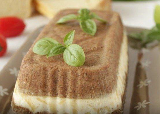 Кекс печеночный с сыром