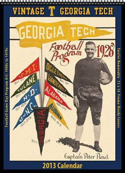 Vintage football programs/posters from alma mater! Great gift for man in your life!  Framed in man cave!?!?