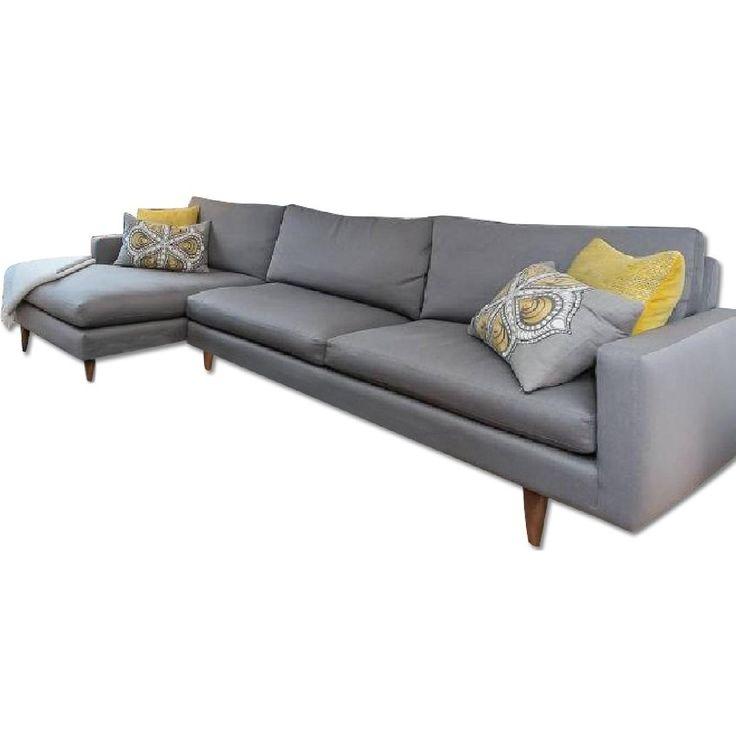 Sofa BedSleeper Sofa Room u Board Jasper Sectional w Chaise