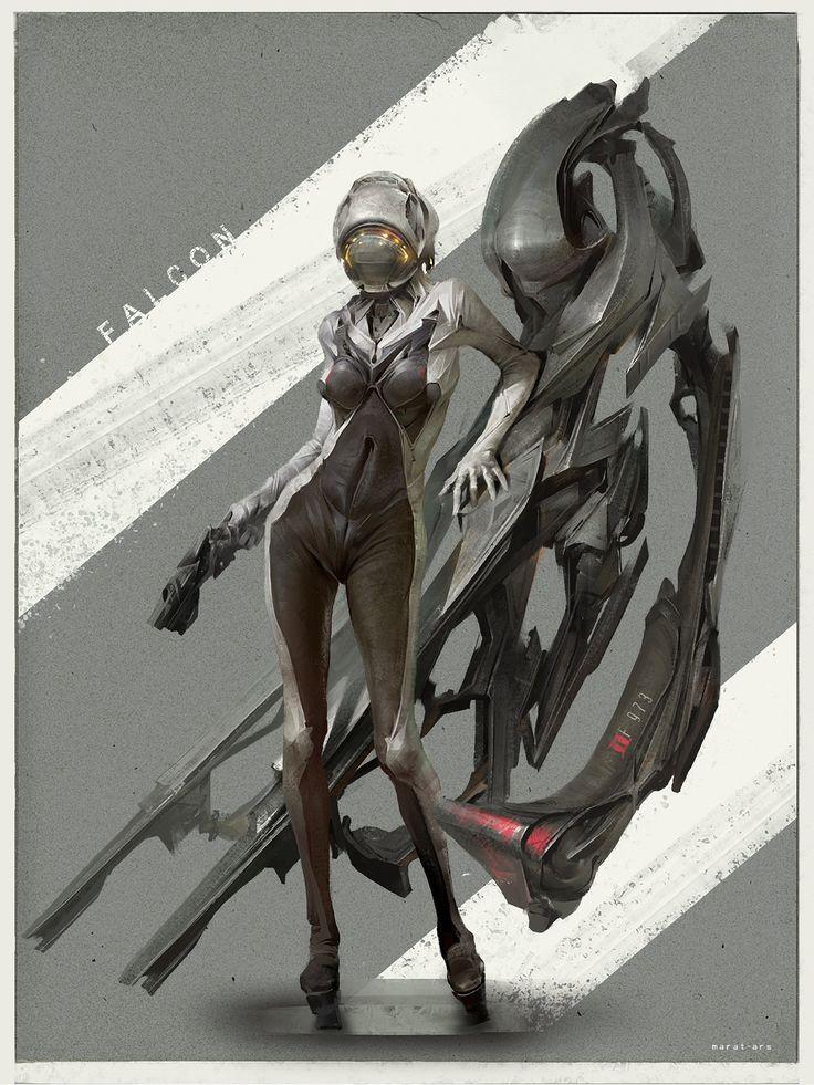 Falcon racer_concept, Marat Ars on ArtStation at https://www.artstation.com/artwork/falcon-racer_concept