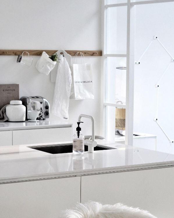 perfect white kitchen #interiors