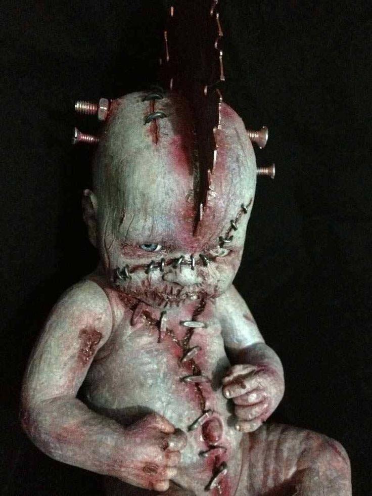 bizarre doll