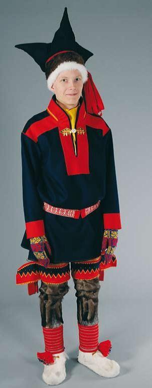 Utsjoki national costume - Utsjoen puku | Sami Duodji ry