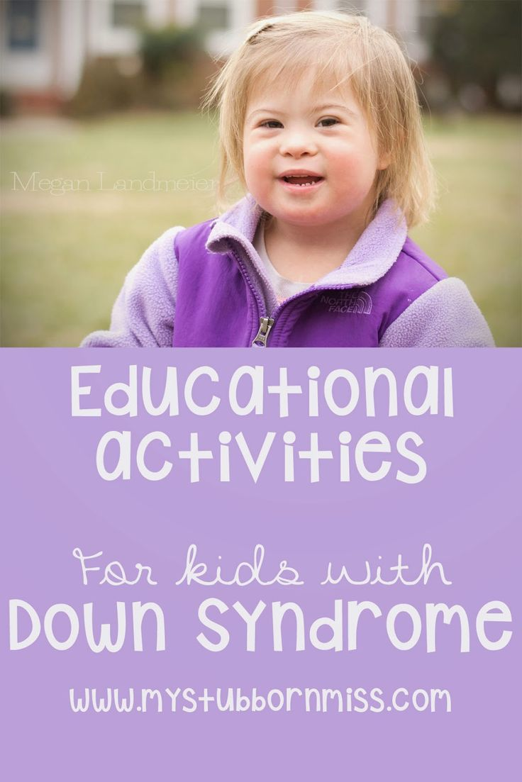 My Stubborn Little Miss: At Home Learning Activities for Kids with Down Syndrome.