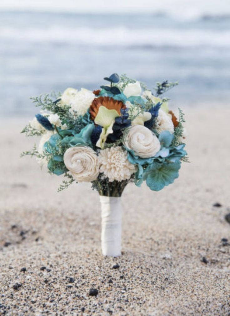 Destination Wedding Bouquet - Tranquil Beach Collection - Keepsake