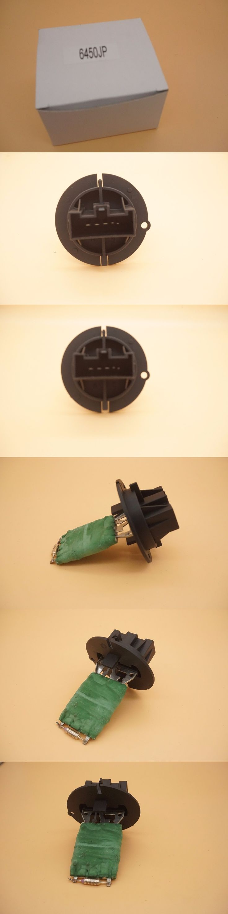 Heater Blower Motor Resistor For Peugeot 206 307 Citroen C3 IR15K R70K R35K 6450.JP 593230300 9636618080 6445KL 6445.KL