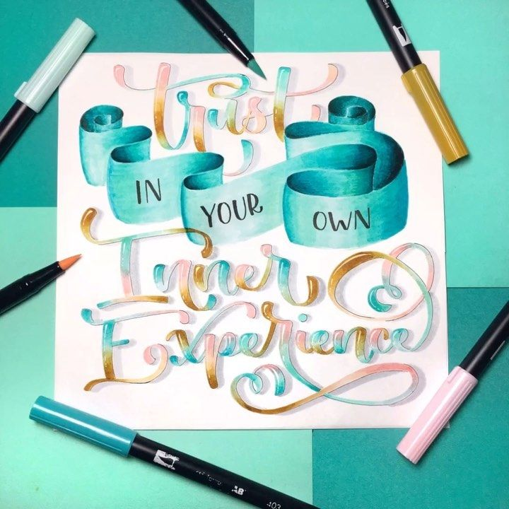 "Alyssa 🇺🇸 Lettering Artist on Instagram ""So often, we"