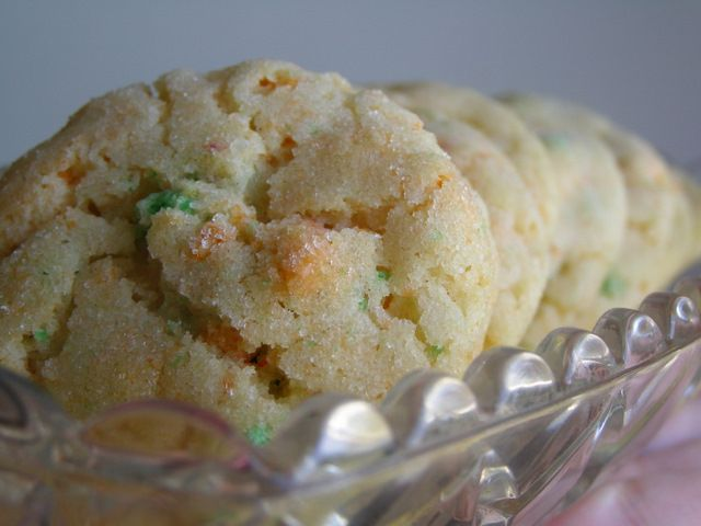 Apple Jacks Cereal Cookies.  Can be made with most boxed cereals, but my daughter would LOVE the Apple Jacks ones!