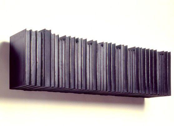 Rachel Whiteread - Untitled (Black Books), 1996-97