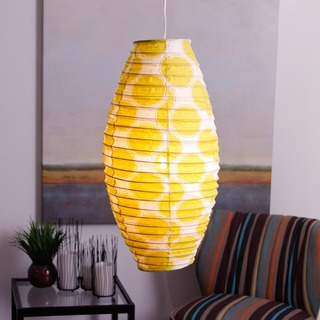 @Overstock - Add a stylish touch to your home decor with this contemporary lamp shade from Indonesia. A lime-green and white pattern highlight this lamp shade.   http://www.overstock.com/Worldstock-Fair-Trade/Ibiza-Lime-Cocoon-Lamp-Shade-Indonesia/7378535/product.html?CID=214117 $22.99
