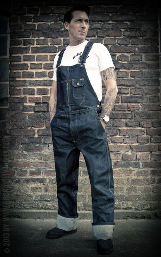 Rumble59 Raw Selvage Dungarees Rockabilly Rules Com
