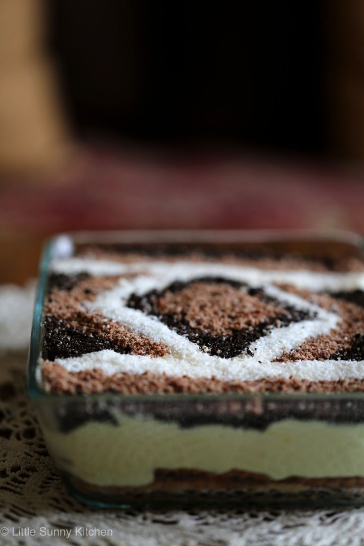 Super easy and beautiful middle eastern carpet dessert!