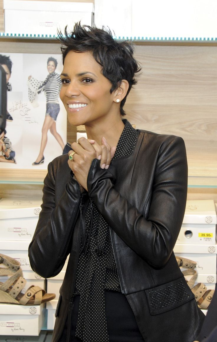 24 best the short hairstyles of Halle Berry images on ...