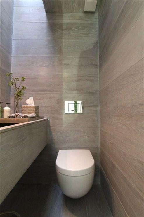 Rajiv Saini and Associates - bathrooms - zen bathroom, narrow bathroom, long bathroom, floating toilet, walls mounted toilet, paneled walls,...