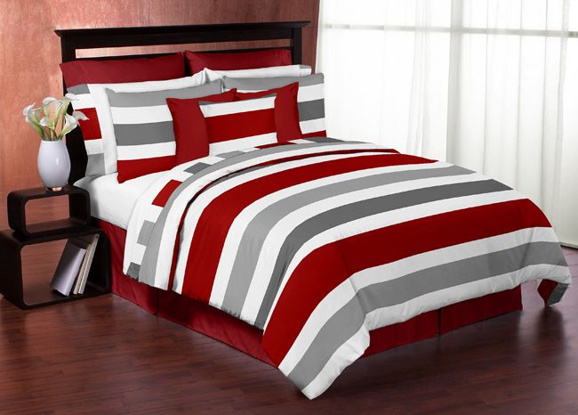 10+ Best Ideas About Grey Red Bedrooms On Pinterest