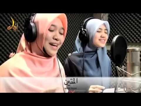 Mashallah. Super wonderful! Live footage of recording of Asma Al husna (Malaysia) ~~ YouTube