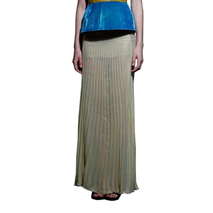 Pleated skirt on TROVEA.COM