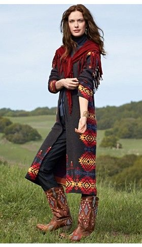 Canyon Rim Sweater Duster I might be too short for this, but i love long, layered looks!