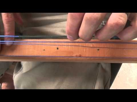 How To Make a Bow String - Continuous Loop