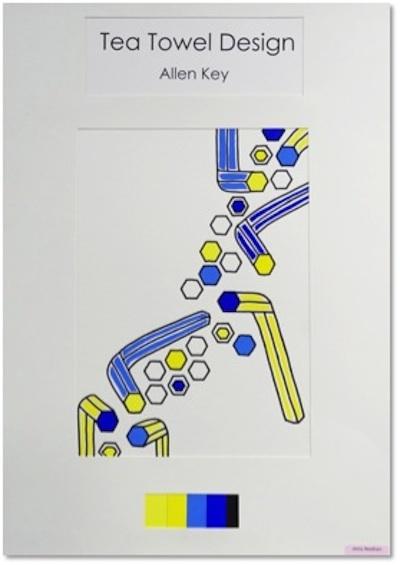 Surface Design Diploma - Industry Awards December 2012  Tamara Maynes Tea Towel Design Award of Excellence - Jenny Needham