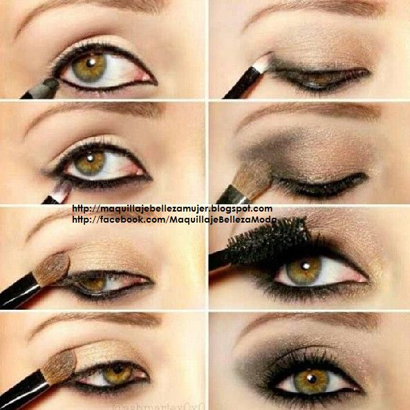 Tutorial de Maquillaje Natural y Sencillo para Ojos  Maquillaje, Belleza y  Moda para la