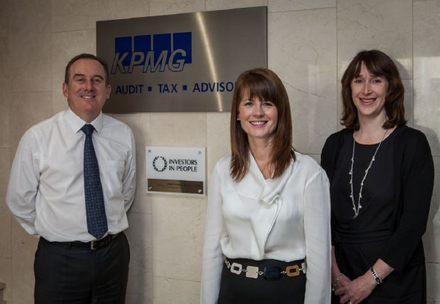 KPMG in the Channel Islands celebrating their IiP Gold success!