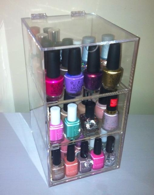 When Nail Polish Storage Is Full – Papillon Day Spa