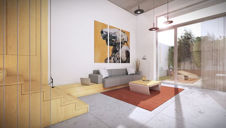 Status: COMPETITION SUBMISSION | Size: 485sft / 45sqm | Location: Bucharest | Type: Residential