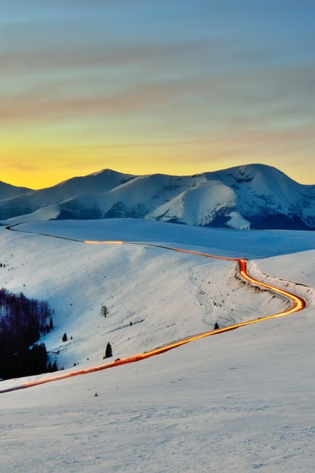 Transalpina mountain road in the Carpathian Mountains, The highest road in Romania, Transalpina is one of the most spectacular roads in the world. At 2145 meters high, Transalpina will provide you with breathtaking views over the magnificent Carpathian  Mountains
