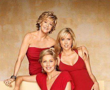 Jane Fonda France @ JaneFondaEN 17 Dec 2016  more   Jane Fonda, Téa Leoni and Sharon Stone.