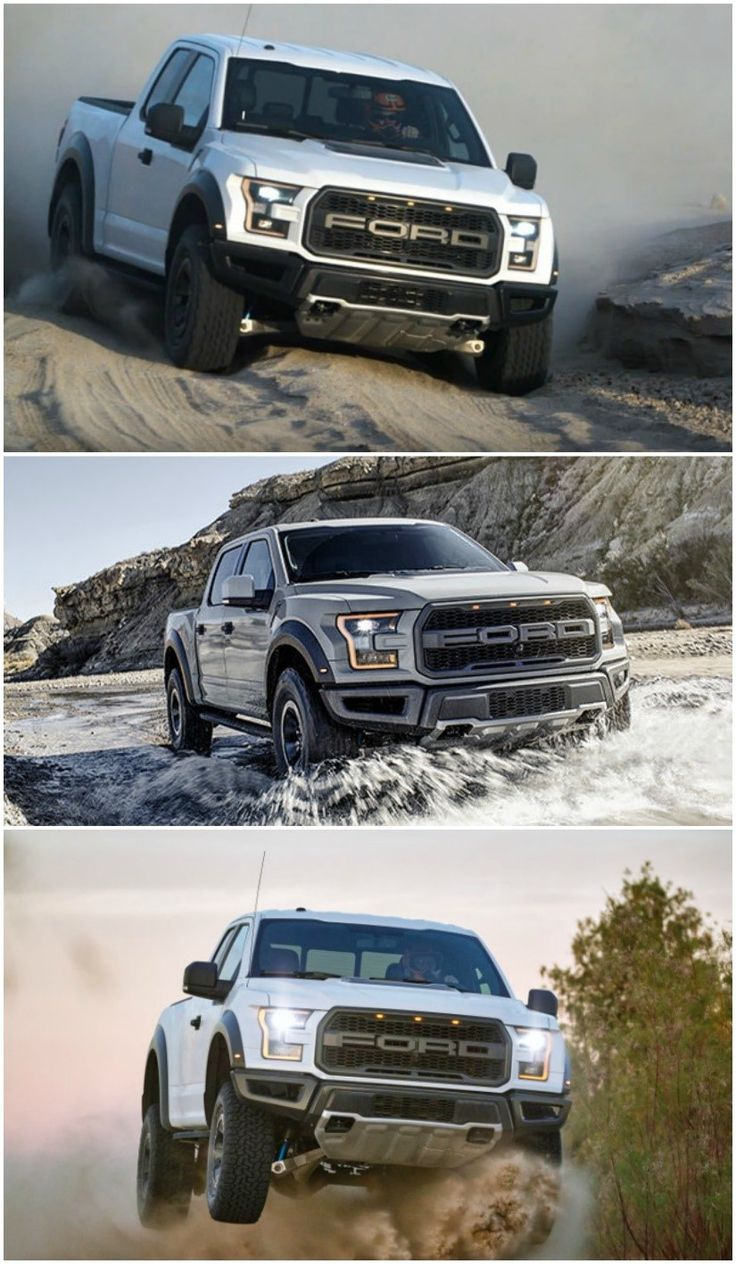 Ford Raptor 2017, based on the latest Ford F-150, and still an off-road pickup with a muscular styling. Did we forget to mention it's absurdly powerful? It uses V6 engine with 450HP and 510 lb-ft of torque. The result? 0 to 60 in 5.3 seconds!