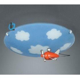 Plafondlamp Vliegtuig