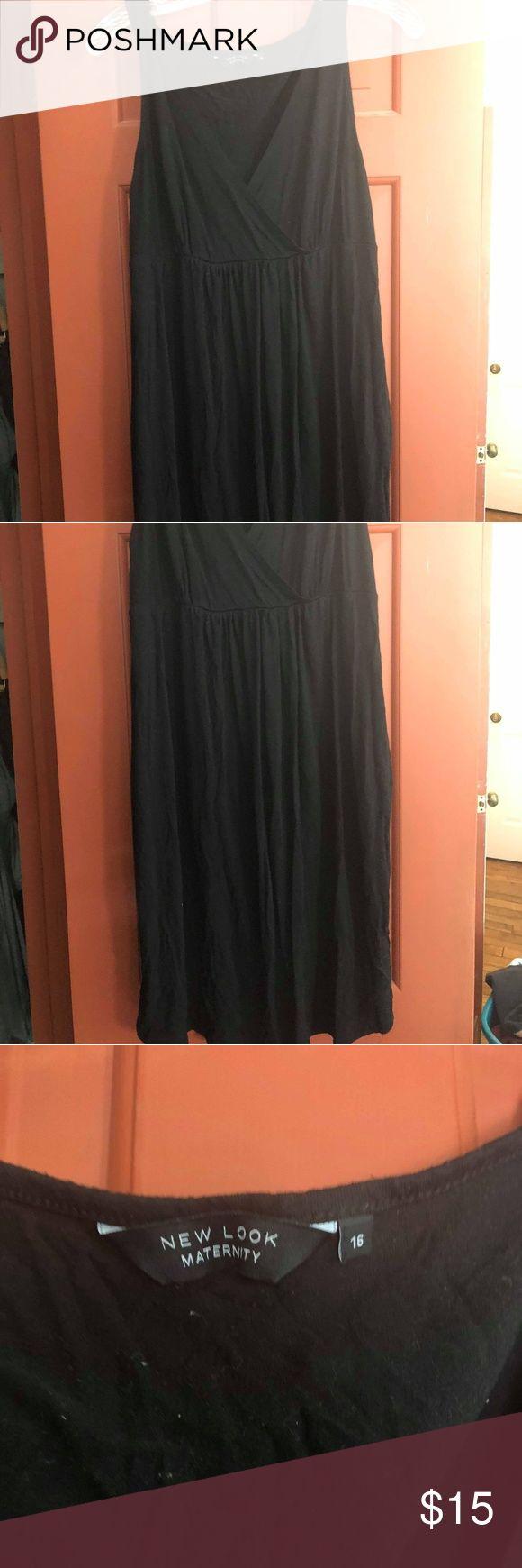 Black nursing/Maternity dress Knee length dress UK size 16 fits like a US 12 ASOS Maternity Dresses Mini