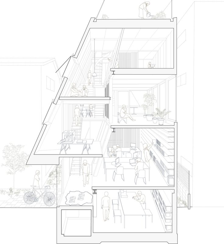 Atelier bow wow atelier bow wow house architecture for Bow house plans