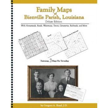 BIENVILLE PARISH, Louisiana -Family Maps of Bienville Parish,  Louisiana