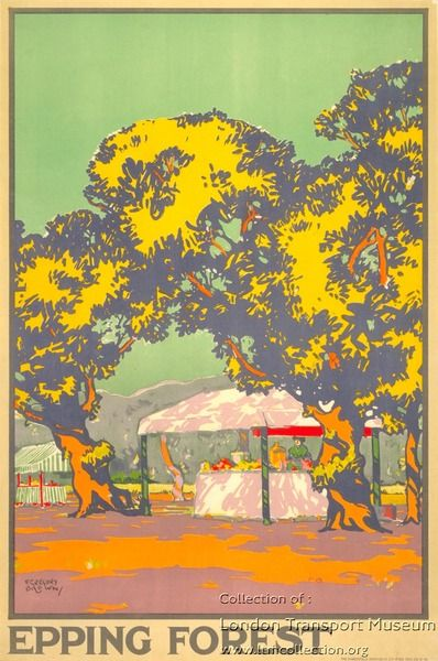 ESSEX Epping Forest, by F Gregory Brown, 1916