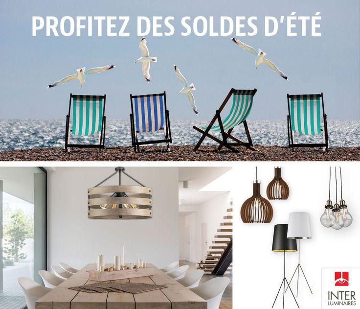 Profitez des soldes d'été chez INTER Luminaires! Découvrez nos promotions http://interluminaires.com/ Trouvez un magasin près de chez vous http://interluminaires.com/magasin/